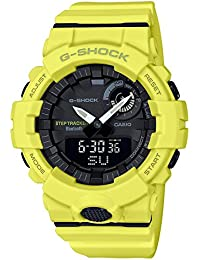 b2d16ec589a3 G-Shock By Casio Men s Analog-Digital GBA800-9A Bluetooth Watch Lime Green