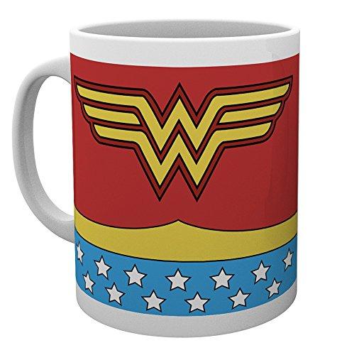 DC Comics Mug Wonder Woman Costume Kelche Tassen (Wonder Woman Toms)