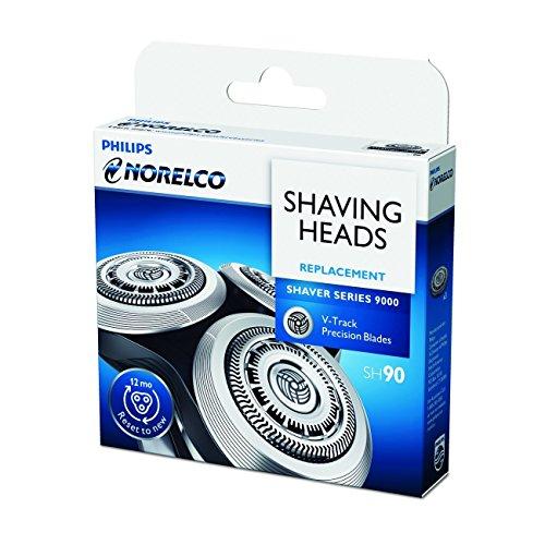 shinemore-3pcs-repuesto-afeitadora-para-philips-norelco-sh909000series-cabezal-de-repuesto