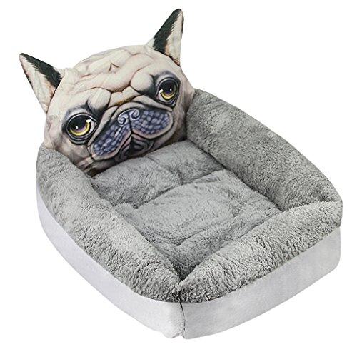 Lustiges Hundebett Katzebett Hundekissen Hundesofa Hundematte Weiche Warme Plüsch Schlafsack Schlafplatz Betten für kleine Hunde Katze Haustier