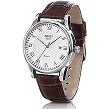HIwatch Reloj Impermeable Hombres Clásico Negocio Cuarzo Reloj para Hombres