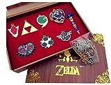 Mesky EU The Legend of Zelda Llaveros 8 Piezas Cosplay para Hombres...