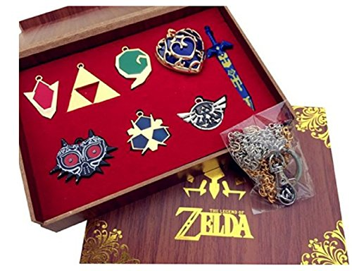 Mesky EU The Legend of Zelda Llaveros 8 Piezas Cosplay