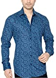 True United Men's Cotton Casual Printed Shirt for Men Stylish