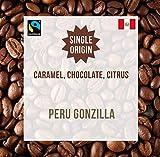 Perù Gonzilla 100% Fairtrade 1KG - Origine Singola - Chicchi Di Caffè Tostati - Coffee World