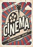 Postereck - 0478 - Vintage Plakat, Cinema - Poster DIN - A2 - 42.0 cm x 59.4 cm