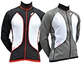 Lusso Carbon Thermo-Jacke Small grau