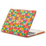 Best Kuzy Macbook Pro 13 Retina Hard Cases - Kuzy - Retina 13-inch Triangle ORANGE Rubberized Hard Review
