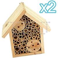 Casetta in legno e ape hotel Box, 2 pezzi