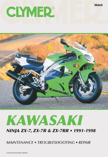 43ecd51eded53 Kawasaki Ninja Zx7, Zx7R, Zx7Rr Ninja, 1991-1998