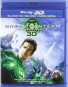 Green Lantern: Linterna Verde (BD 3D + BD 2D + Copia Digital) [Blu-ray 3D] [Import espagnol]