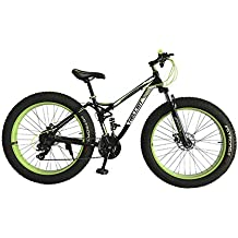 Helliot Bikes Fat Extreme Terrain 02 Bicicleta, Adultos Unisex, Verde, Talla Única