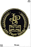 Patch - JPS - John Player Special - Gold UK - Motorsport - Motorsport - John Player - Aufnäher - zum aufbügeln - Iron On