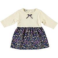 bebobio–Vestito ragazza in popeline e jersey Bio