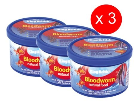 King British Bloodworm 7g (pack of 3)