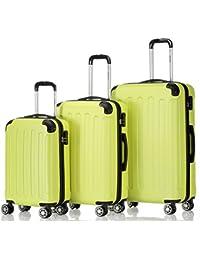 Beibye 2033 - Juego de 3 maletas rígidas