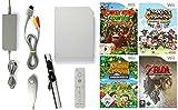 Nintendo Wii Konsole inkl. Zubehör und mit 4 TOP Big N Spielen