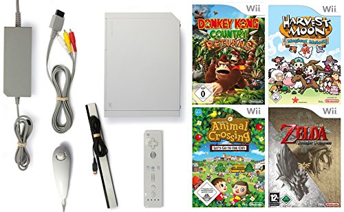 inkl. Zubehör und mit 4 TOP Big N Spielen (Spiele-klassiker Für Wii U)