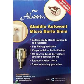 Aladdin Micro Barlo 6mm Fully Automatic Self Bleeding Radiator Valve