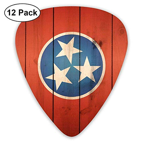 Tennessee State Guard (Tennessee State Flag Classic Guitar Picks 12-Pack)