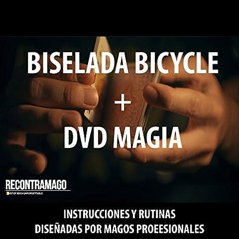 Trucos de Magia - BARAJA BICYCLE BISELADA / STRIPPER + VIDEO INSTRUCTIVO y RUTINAS de Magia en ESPAÑOL diseñados por Magos profesionales de RecontraMago