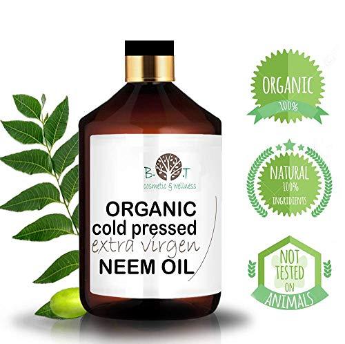 Olio Virgin di Neem puro spremitura a freddo 100% Puro BIO Non raffinato (250 ml)