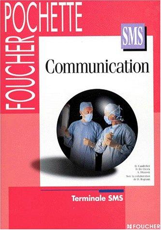 Communication, Terminale SMS (Livre pochette)