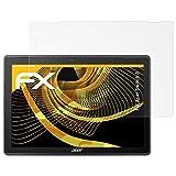 atFolix Panzerfolie kompatibel mit Acer Switch 3 Schutzfolie, entspiegelnde & stoßdämpfende FX Folie (2X)