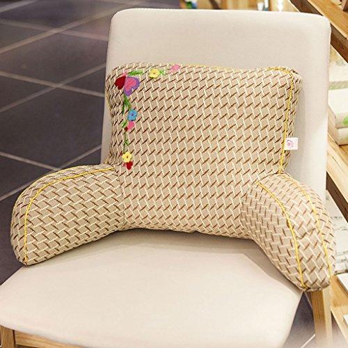 WYQLZ Dessin animé mignon bureau maison canapé chaise coussin taille oreiller ( conception : F )