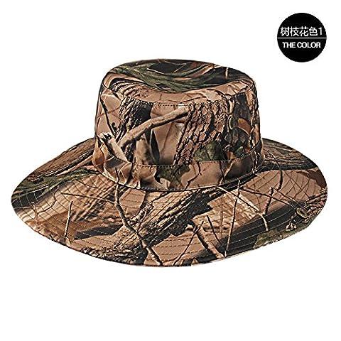 GUMO-Pêcheur chapeau hat chapeau de soleil crème solaire Visor cap