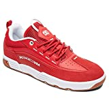 DC Shoes Men's Legacy 98 Slim Low Top Sneaker Shoes Red 9.5