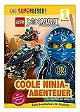 SUPERLESER! LEGO NINJAGO Coole Ninja-Abenteuer: 1. Lesestufe Sach-Geschichten für Leseanfänger