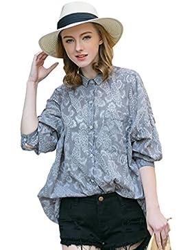 Evans Check Shirt, Camisa para Mujer