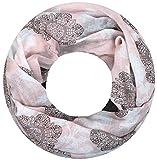 XXL TOP TREND Damen Schal leichter Schlauchschal Viele Farben (Modell 6)