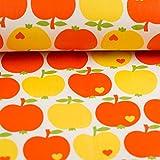 Stoff Baumwolle beschichtet byGraziela Apfel Klassik