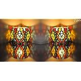 FAB D ZINES Home Decorative Votive Tea Light Candle Holder 3 Inches/Tealight Holder Set - B075V93S63