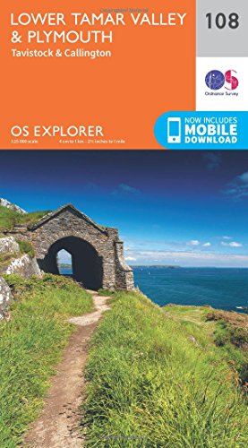 os-explorer-map-108-lower-tamar-valley-and-plymouth