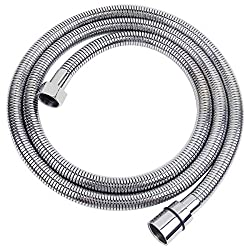 MINGOR Stainless Steel Shower Hose 3.0m(118inch),Bathroom Toilet Handheld Showerhead Sprayer Extension Replacement Part,Polished Chrome
