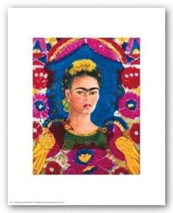 The Frame de Frida Kahlo Tirages d'Art Poster