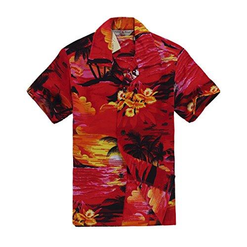 Chico-Camisa-hawaiana-de-la-hawaiana-en-tamao-rojo-de-la-puesta-del-sol-14