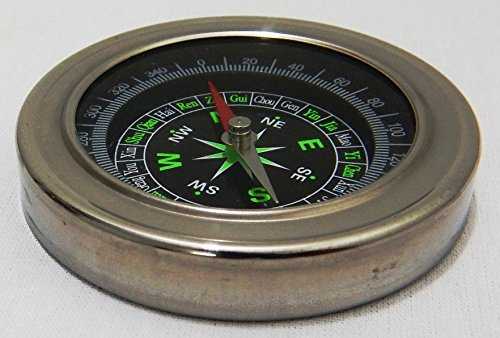 AnZ Discovery Anz Discovery Stainless Steel Directional Magnetic Compass Cum Kids Learning Resource