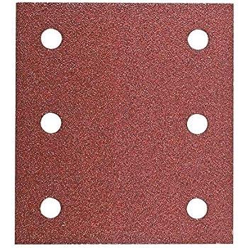 Hitachi/ /753425/ /Lot de 10 papiers de verre pour ponceuses orbitales type delta 100/x 150/mm Grain 120/avec Velcro