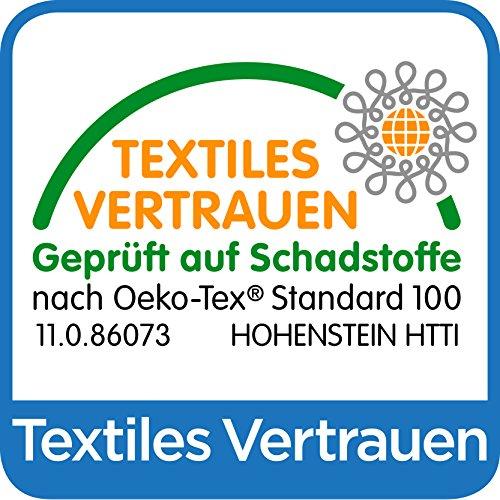 Waschfaserlaken PLUS PREMIUM (400x waschbar) 80×210 cm 1 Stück weiß – OEKO-TEX® geprüft – ORIGINAL Dr. Güstel – Vlieslaken, Vliestuch, Hygiene-Auflage - 6