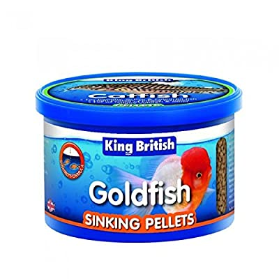 King British Goldfish Sinking Pellet 140g