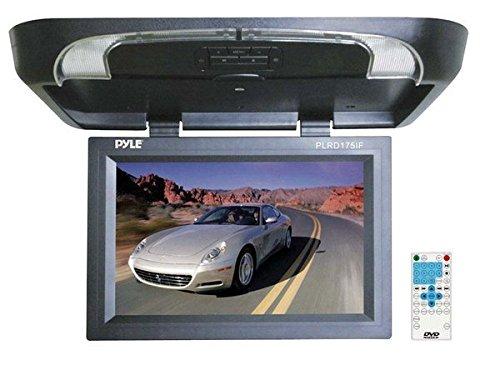 Pyle plrd175if 43,2cm Flip Down Monitor mit Built in DVD/SD/USB-Player mit Wireless FM Modulator und IR Transmitter Ir-modulator