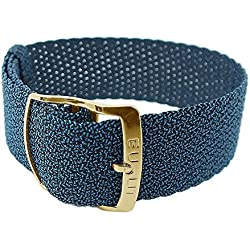 Panama Replacement Strap Nylon Blue Bridge Width: 16 mm