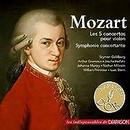 Mozart: Les 5 concertos pour violon & Symphonie concertante (Les indispensables de Diapason)