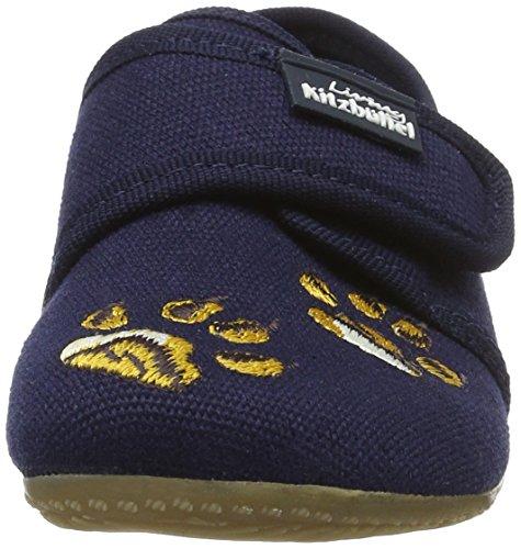 Living Kitzbühel Klettmodell Mit Stickerei, chaussons d'intérieur garçon Bleu Marine