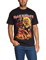 Collectors Mine Herren T-Shirt Iron Maiden-Number of the Beast Graphic