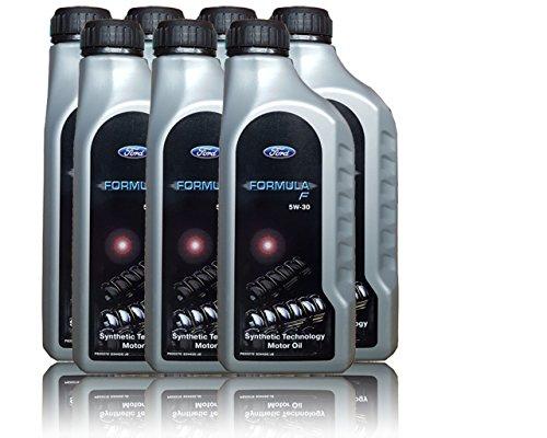 7X 1L LITRI Ford Formula F 5N 30Olio motore Olio; Specifiche/condivisioni: ACEa A5/B5; WSS-C (comprende WSS m2C913m2C913a, WSS m2C913di B)